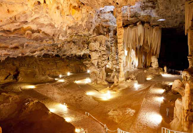 cango caves in Oudtshoorn, South Africa